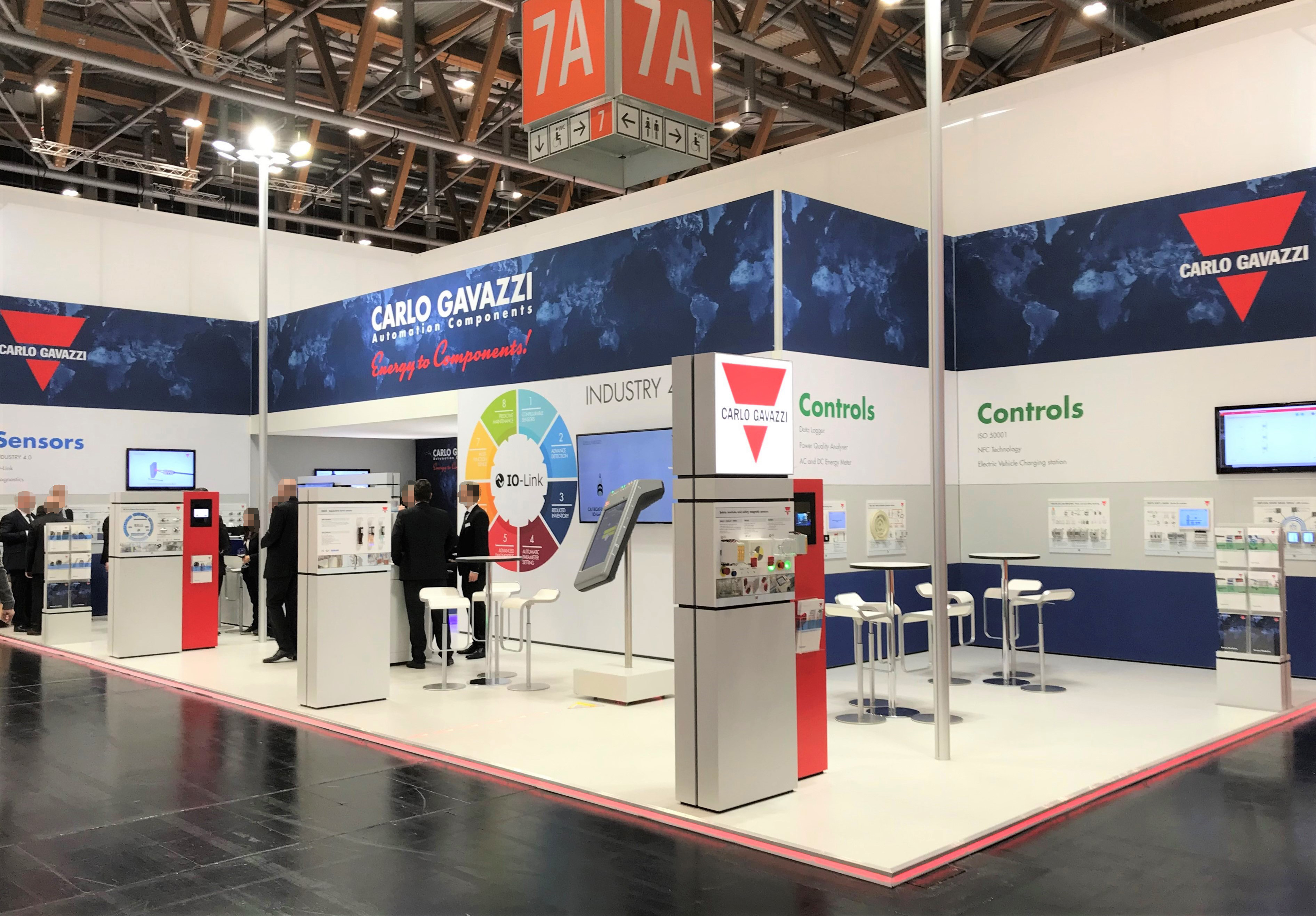 Messestand SPS IPC DRIVES2016